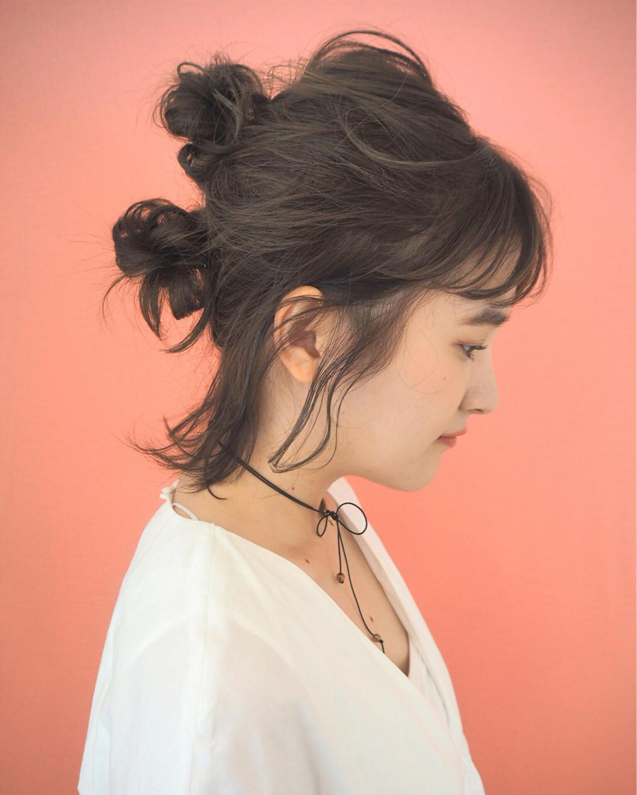 簡単ヘアアレンジ「シニヨン」のやり方特別レッスン♡基本技〜変化テクまで! 宮迫 真美  airfeel
