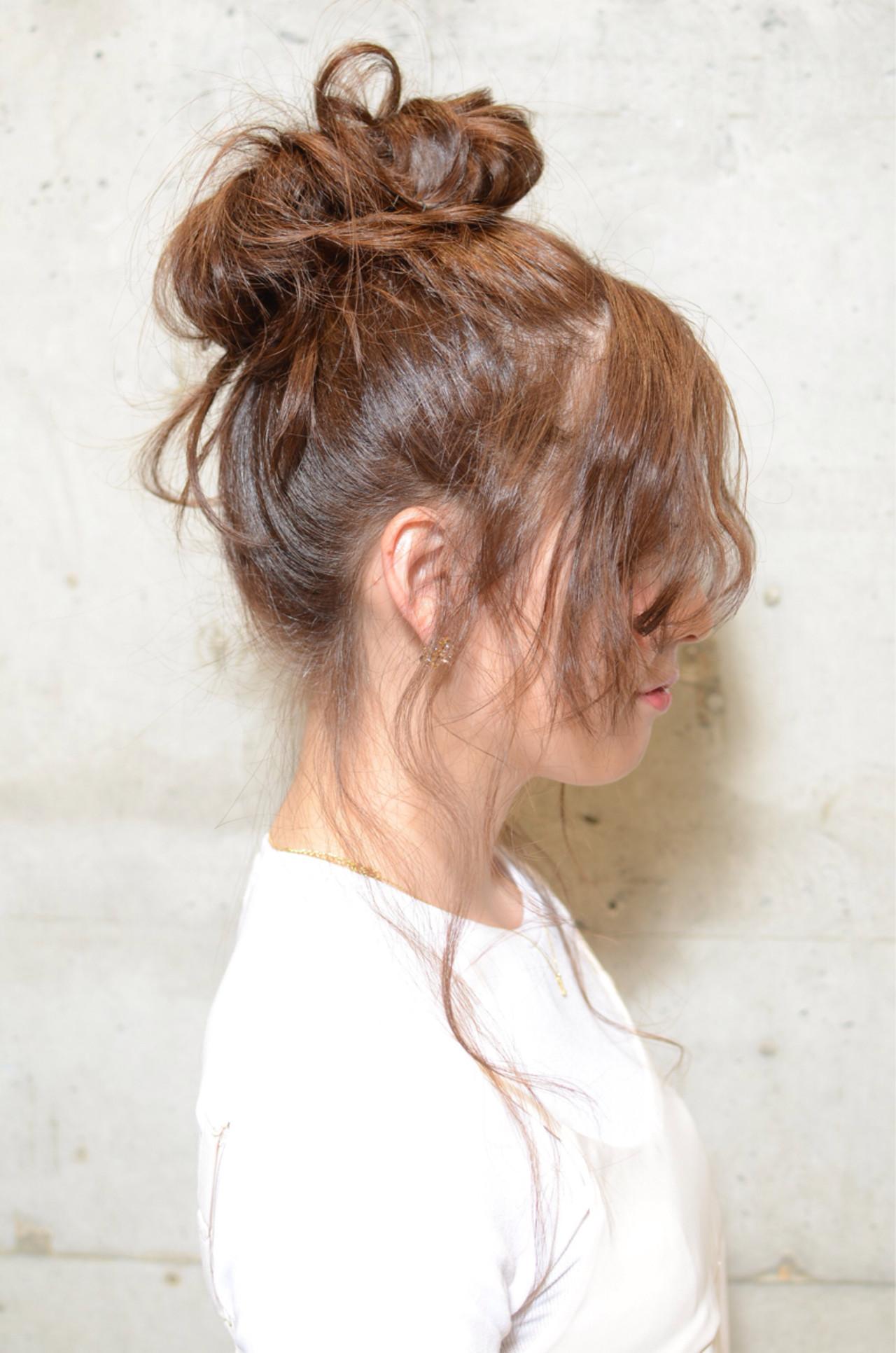 簡単ヘアアレンジ「シニヨン」のやり方特別レッスン♡基本技〜変化テクまで! Tomioka Shinji  REX HAIR INTERNATIONAL