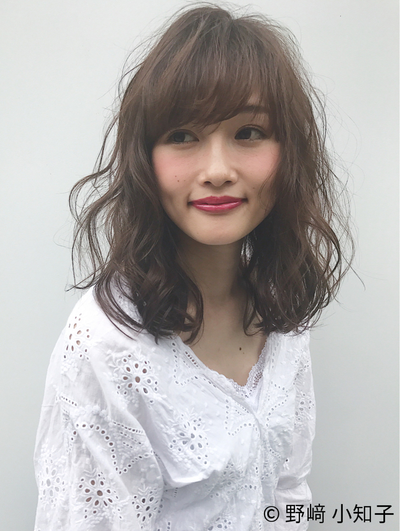 パーマ ゆるふわ 女子会 ガーリー ヘアスタイルや髪型の写真・画像