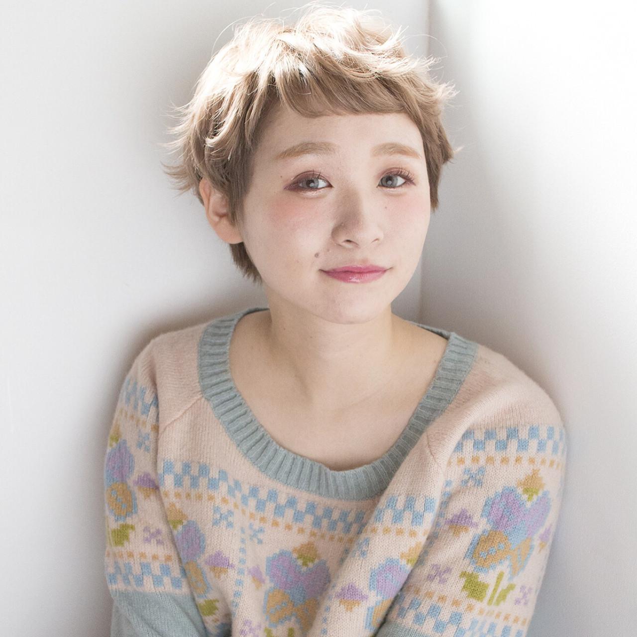 ハイトーン 外国人風 ガーリー 透明感 ヘアスタイルや髪型の写真・画像