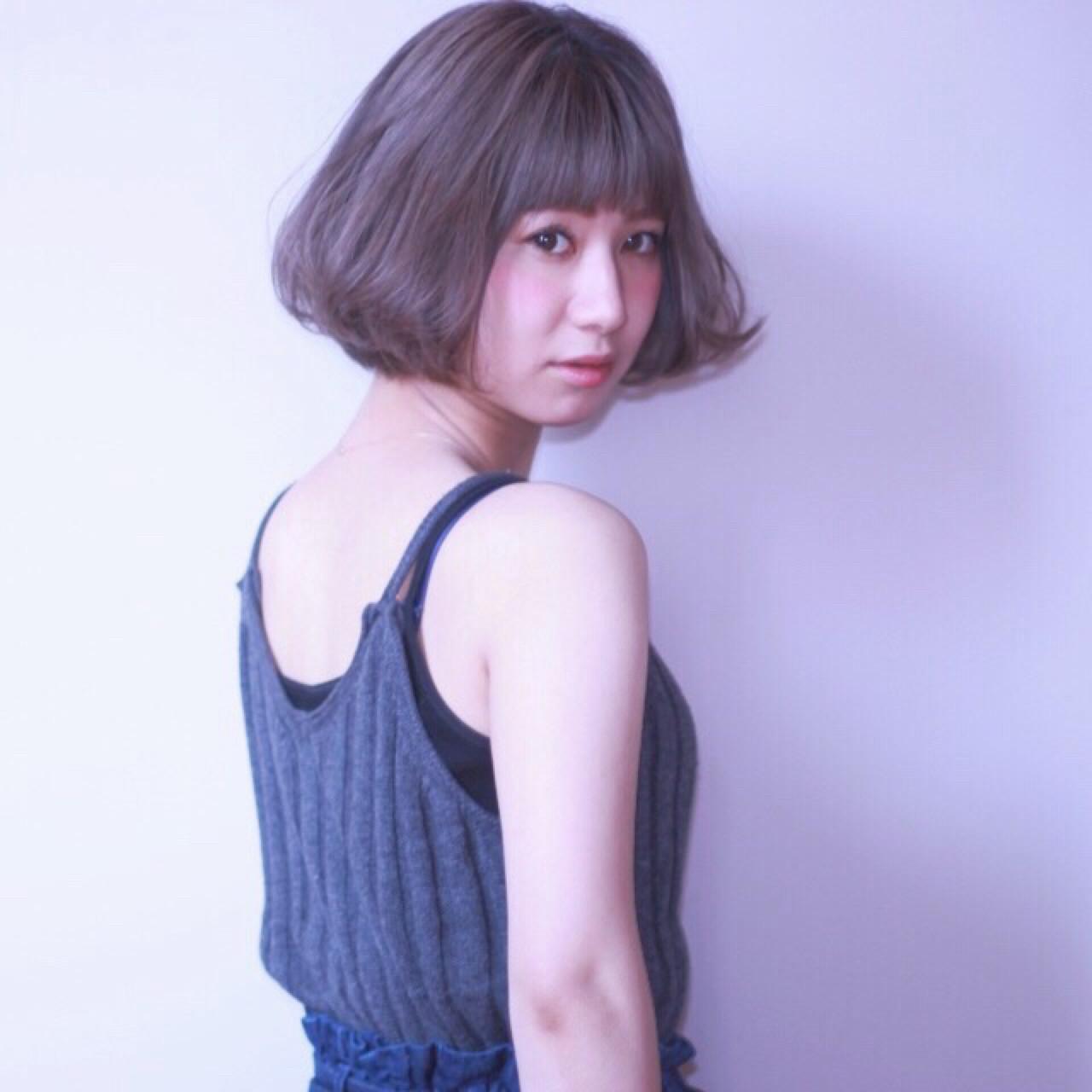 色気 ボブ モード ニュアンス ヘアスタイルや髪型の写真・画像