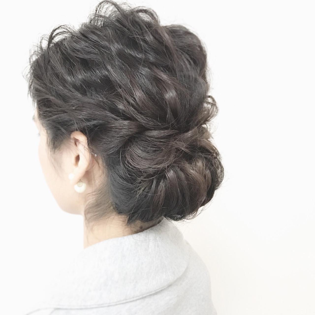 面長さんに似合うヘアアレンジテク☆気になる部分は髪で賢くカバー 平岡 歩 hiraocatalogue | hair&beauty NON