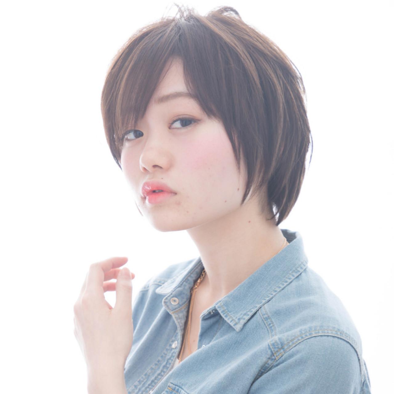 【顔型診断】顔の形で分かる!自分に似合う髪型って何?♡ ゆかり
