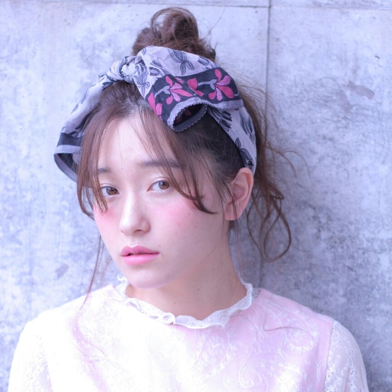 メッシーバンの超簡単ヘアアレンジで、どこから見られても反則級の可愛さGET♡ Wataru Maeda