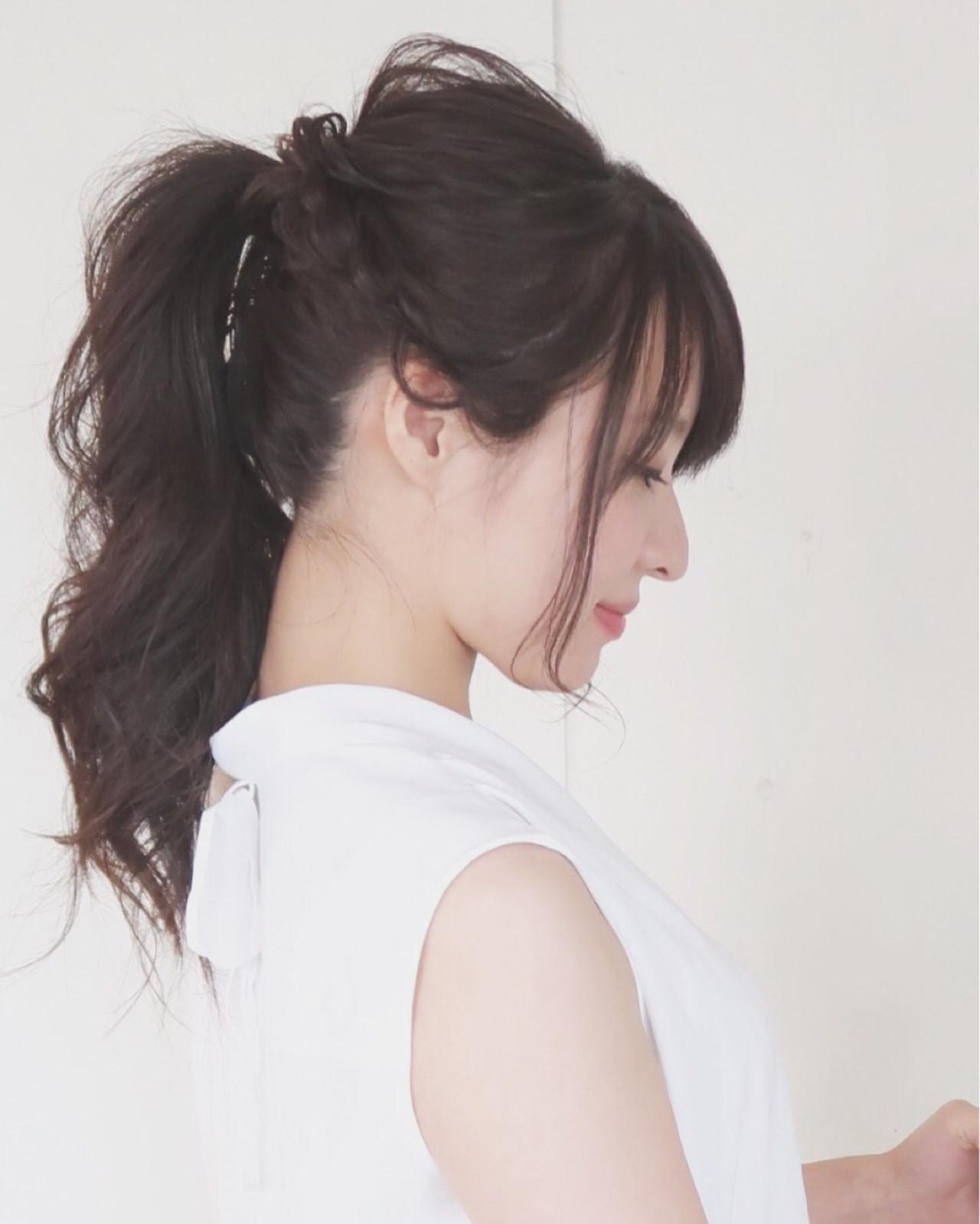 結婚式 大人かわいい ナチュラル ヘアアレンジ ヘアスタイルや髪型の写真・画像
