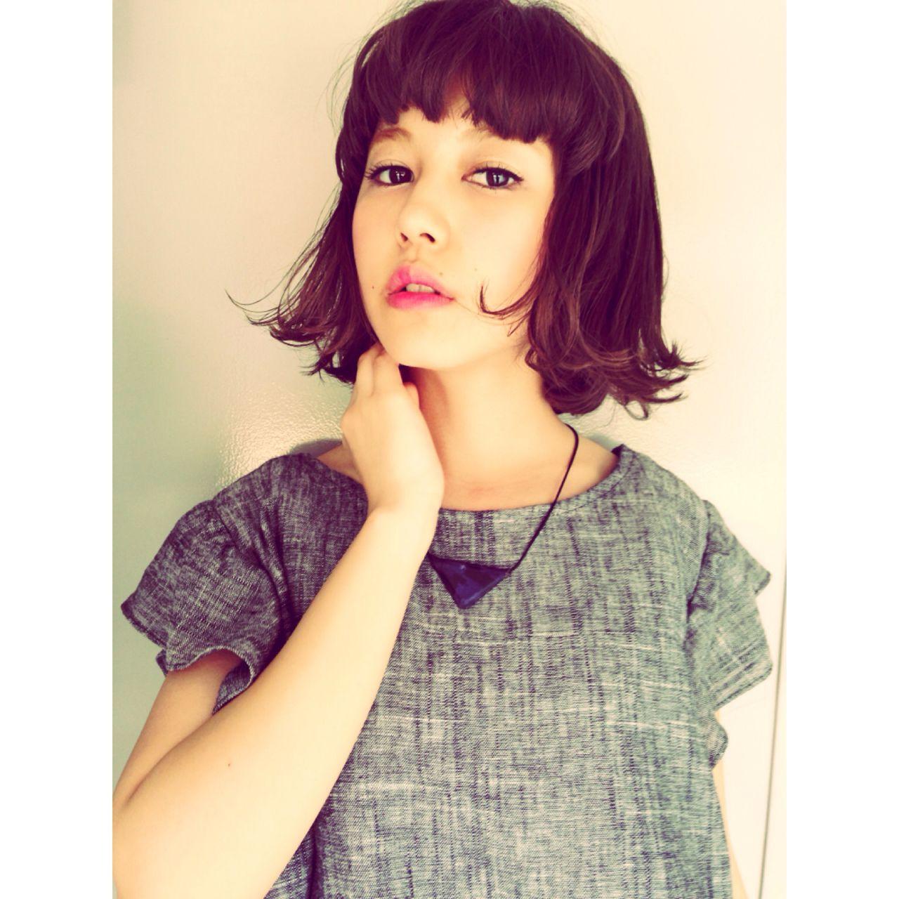 ロング ガーリー 外ハネ 秋 ヘアスタイルや髪型の写真・画像