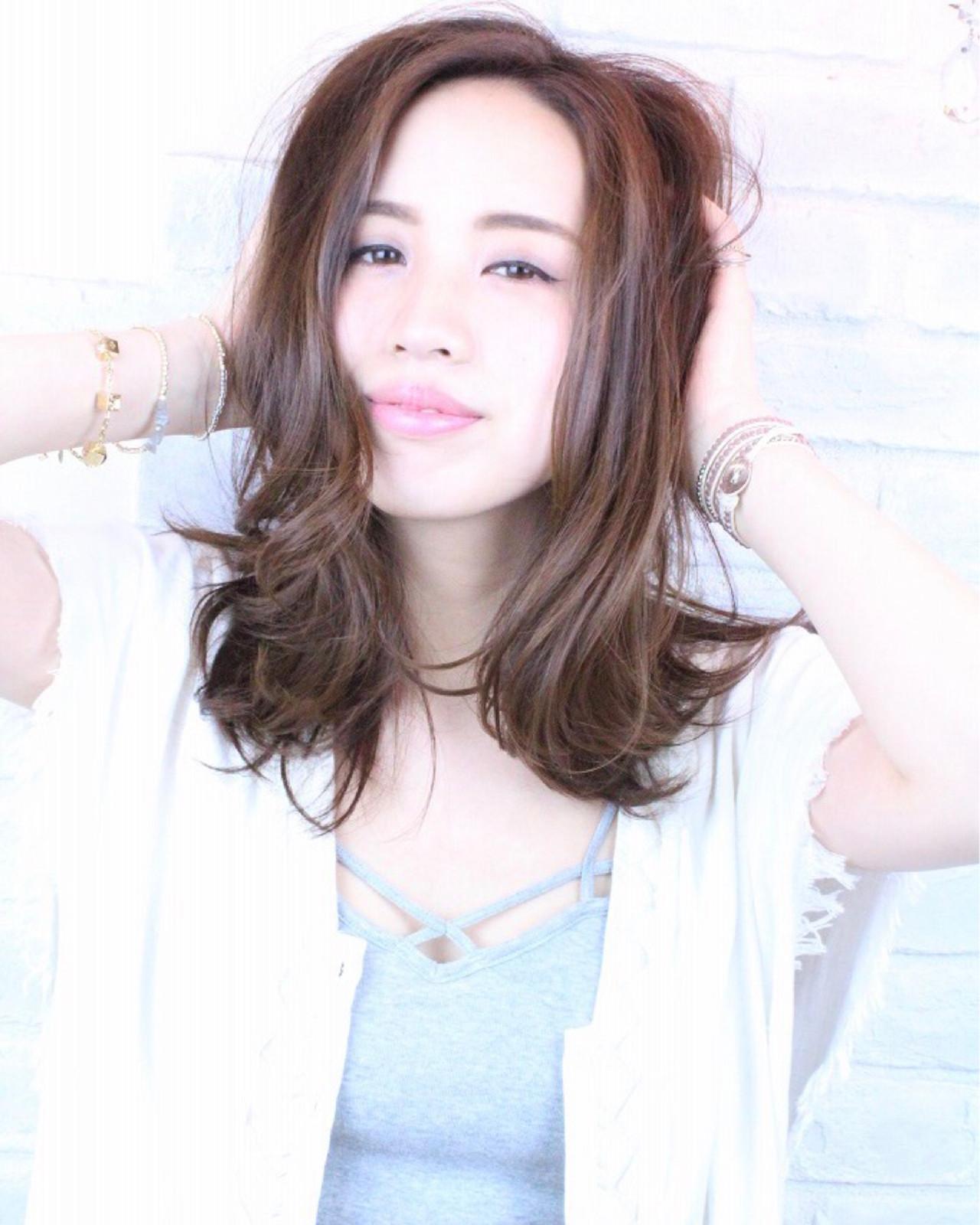 ナチュラル かわいい 大人女子 デート ヘアスタイルや髪型の写真・画像