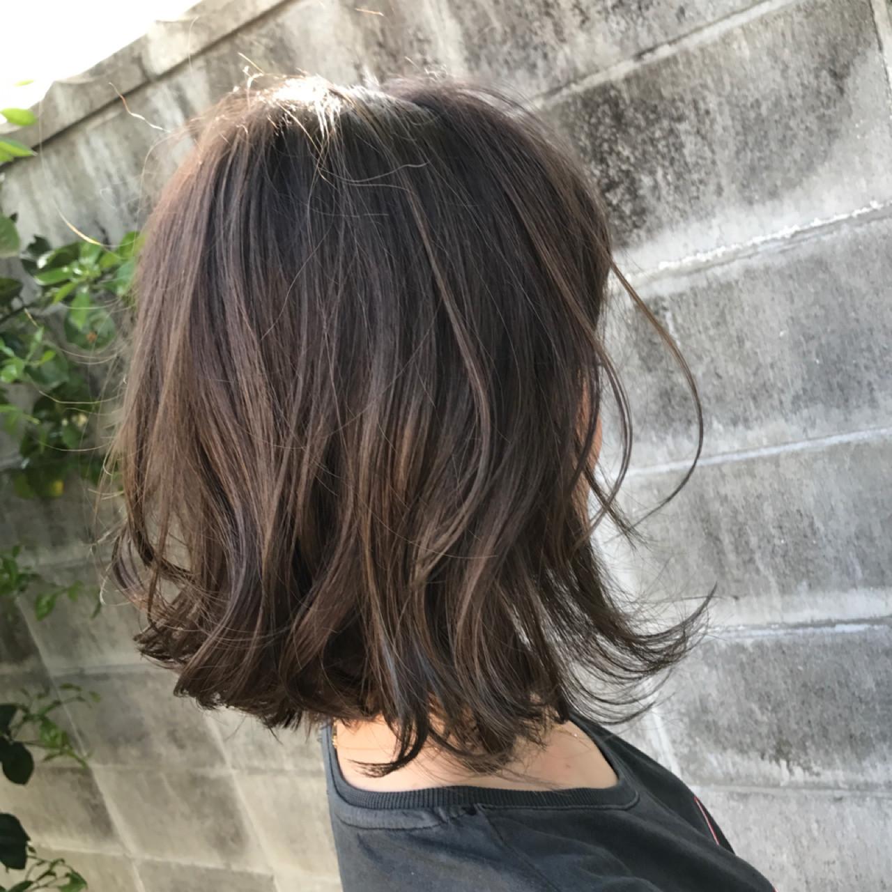 カラーの深み増すハイライト♡参考にしたいおすすめスタイル 高尾武志 | Hair Shop AIM