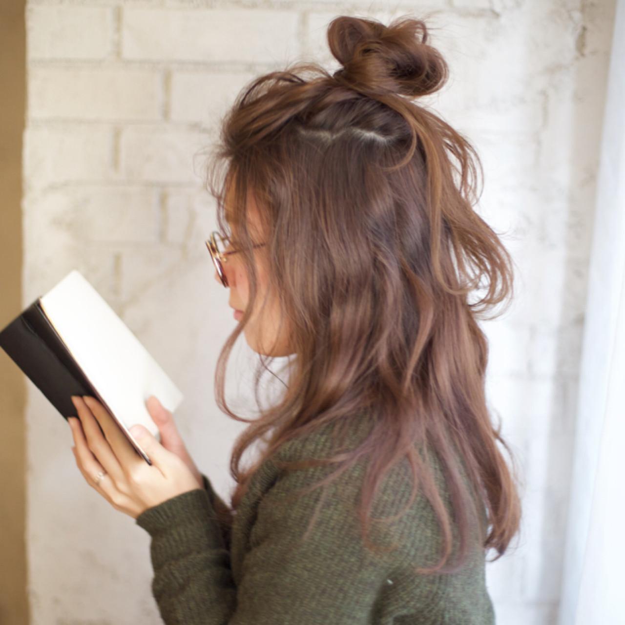 メッシーバンの超簡単ヘアアレンジで、どこから見られても反則級の可愛さGET♡ 谷本将太 nalu hair