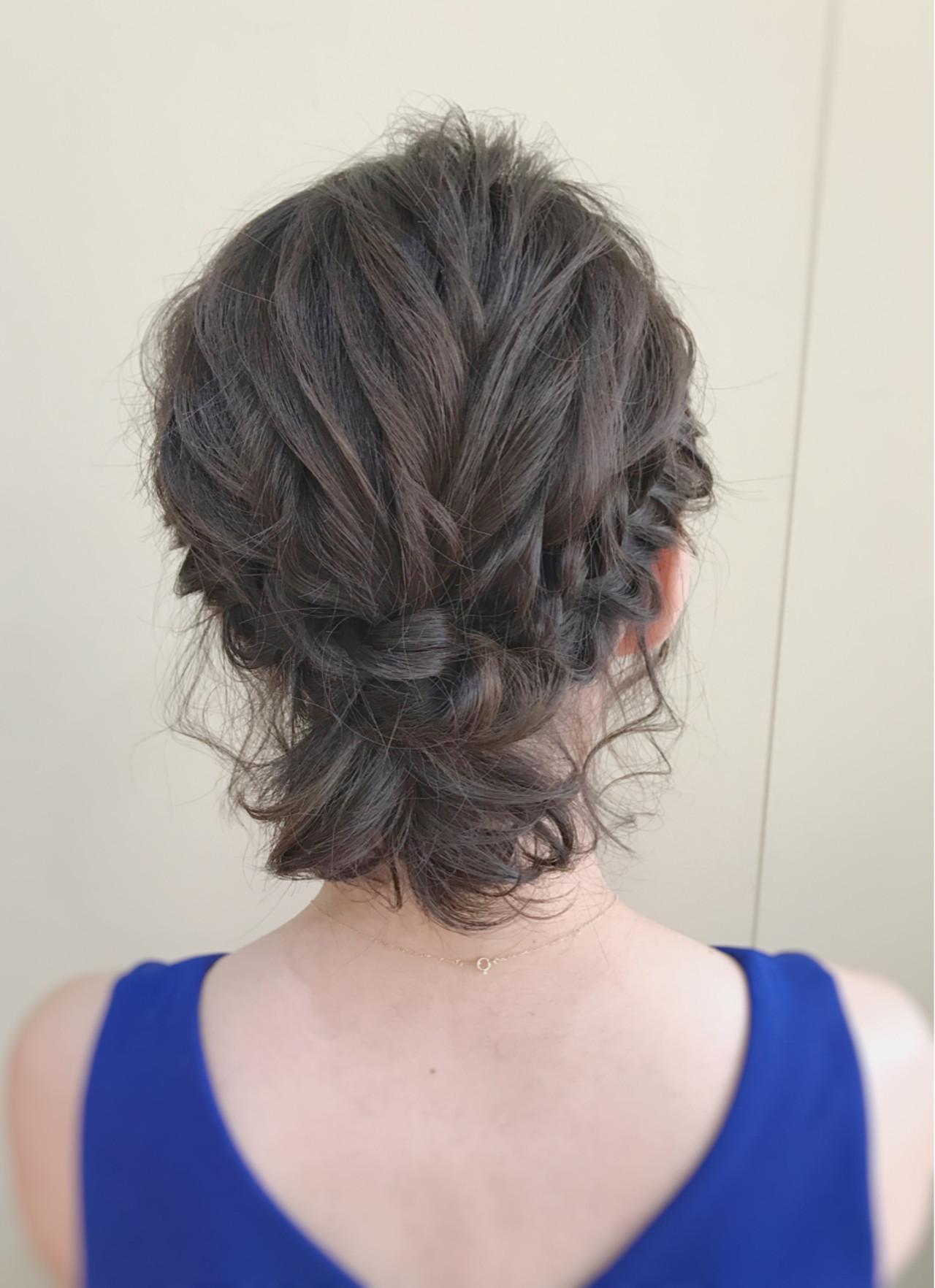 フェミニン ショートボブ ショート ヘアアレンジ ヘアスタイルや髪型の写真・画像