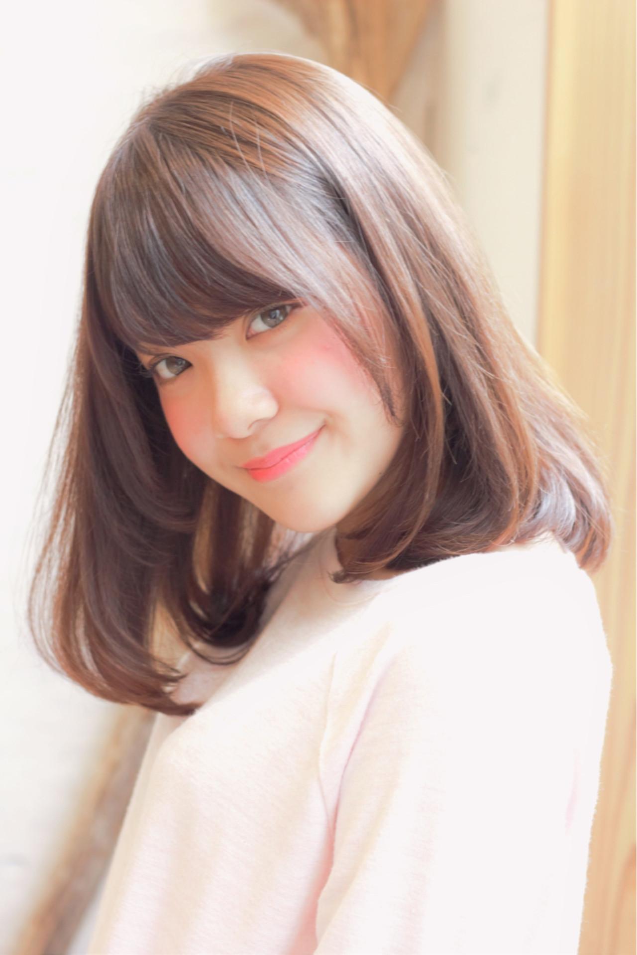 面長さんに似合うヘアアレンジテク☆気になる部分は髪で賢くカバー 徳永 梨瑛子 | HONEY