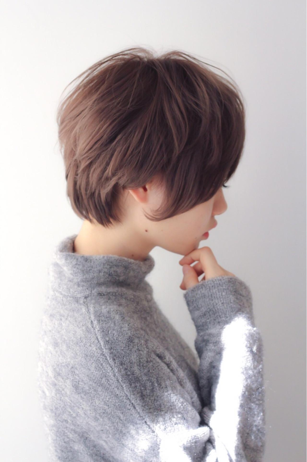 アッシュ 外国人風カラー ナチュラル グレージュ ヘアスタイルや髪型の写真・画像