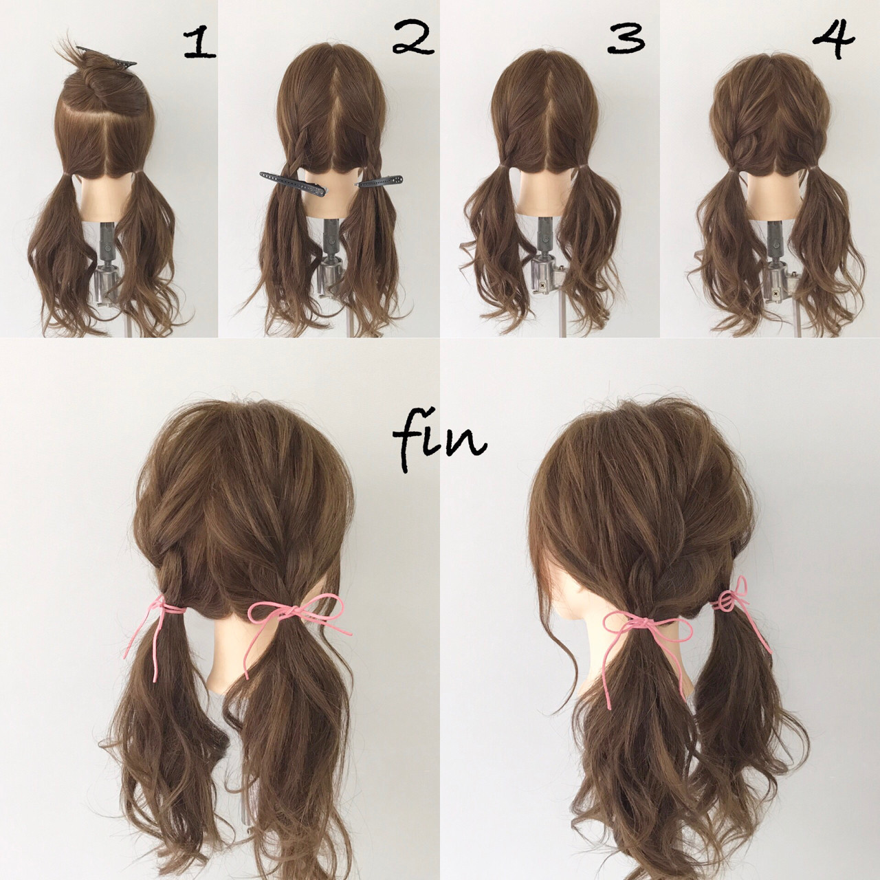 デート ロング 女子会 簡単ヘアアレンジ ヘアスタイルや髪型の写真・画像