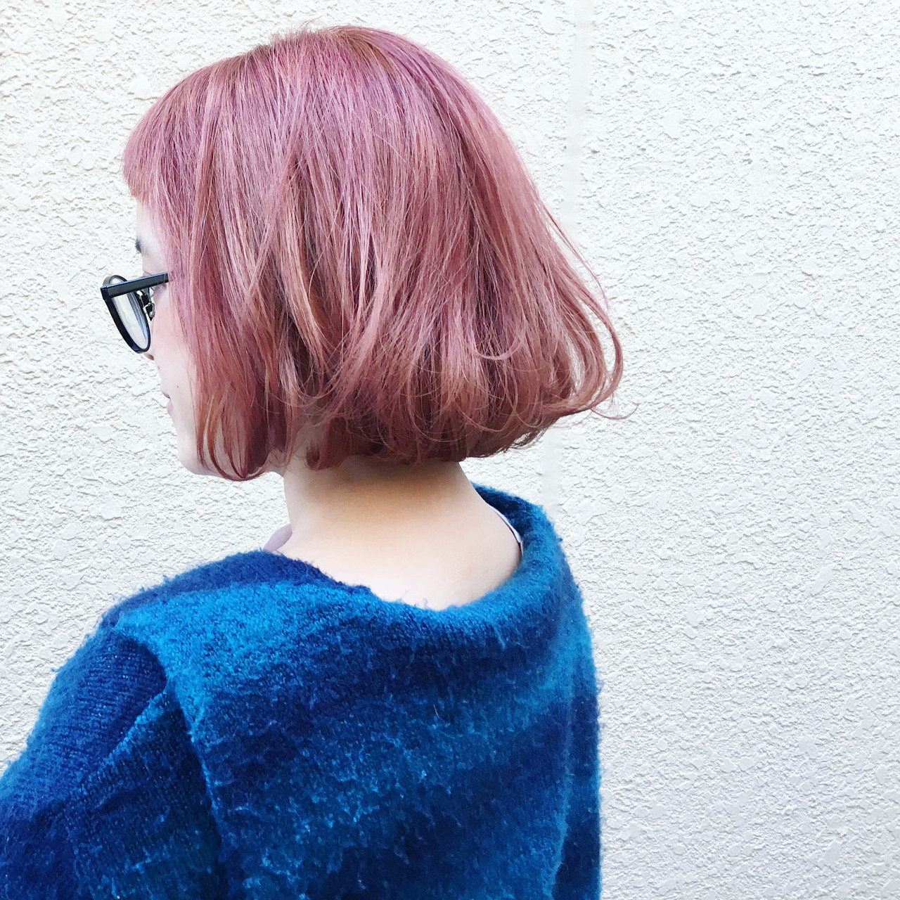 外ハネ ストリート ラベンダーアッシュ 外国人風 ヘアスタイルや髪型の写真・画像