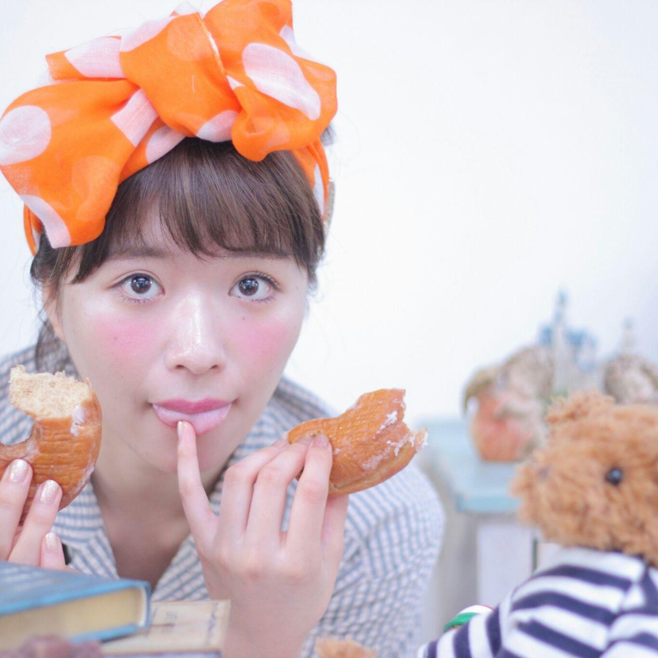 バンダナを使った髪型で可愛さUP♡とっておきアレンジ特集 Wataru Maeda