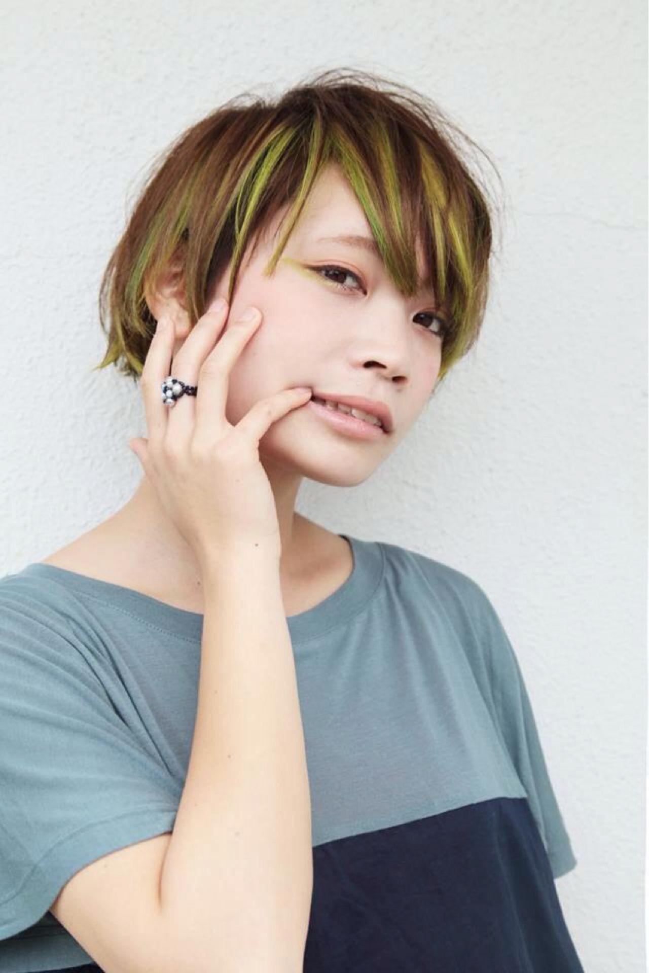 《前髪別》ストレートのショートボブ特集!絶対かわいくなれるスタイル10選 ishihara takuya