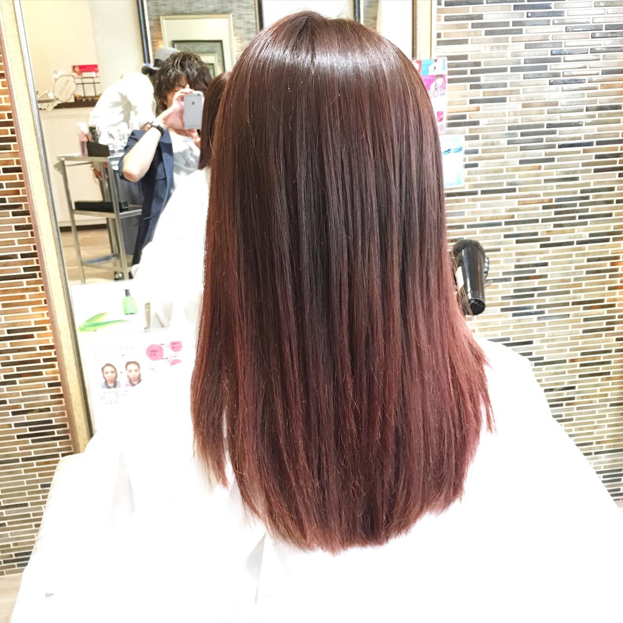 コーラルピンクが大人かわいい!旬のヘアカラーで女子力アップしよう 山本健太