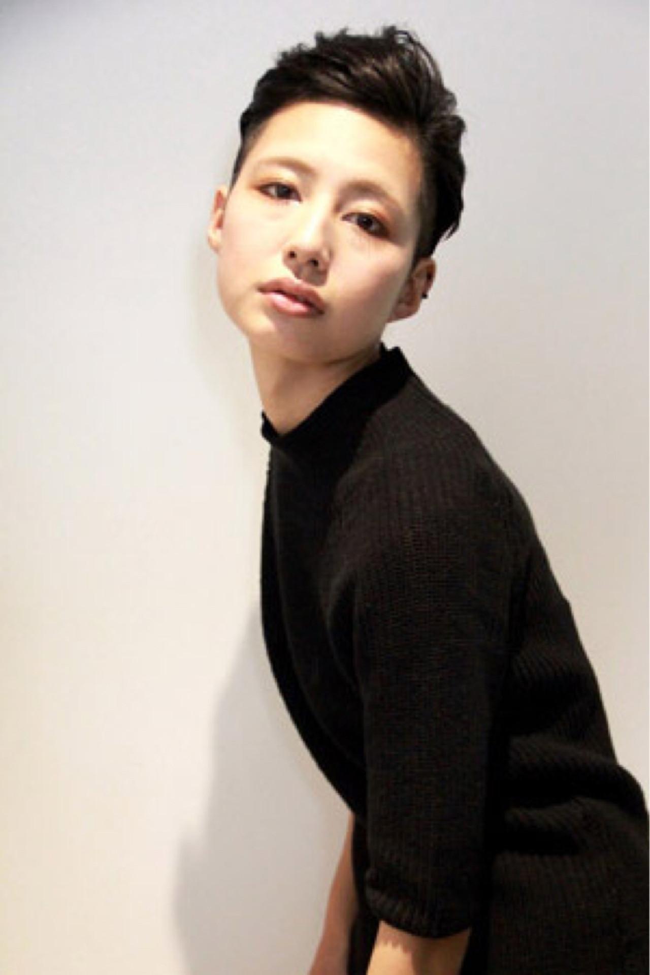 クール女子におすすめ!カッコかわいいソフトモヒカン風の髪型カタログ 中田 大助