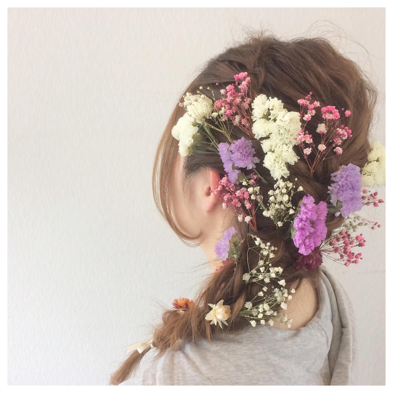 ウエディングドレス向けヘアスタイル♡人生で1番美しい私になれる髪型10選 ヤマナカサトル