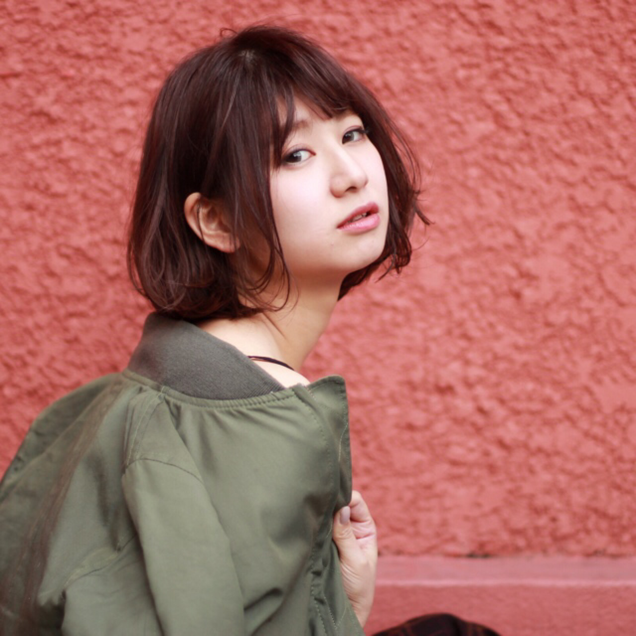 ストリート 甘辛MIX 色気 ショート ヘアスタイルや髪型の写真・画像