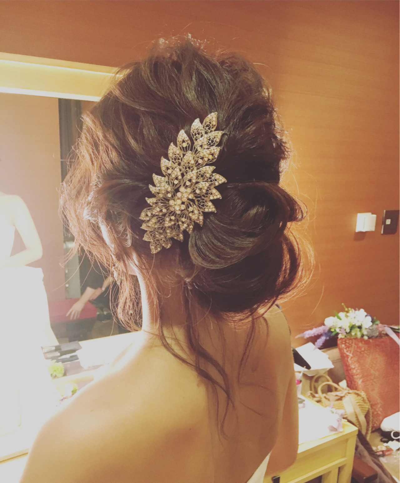 ウエディングドレス向けヘアスタイル♡人生で1番美しい私になれる髪型10選 稲垣 嘉乃