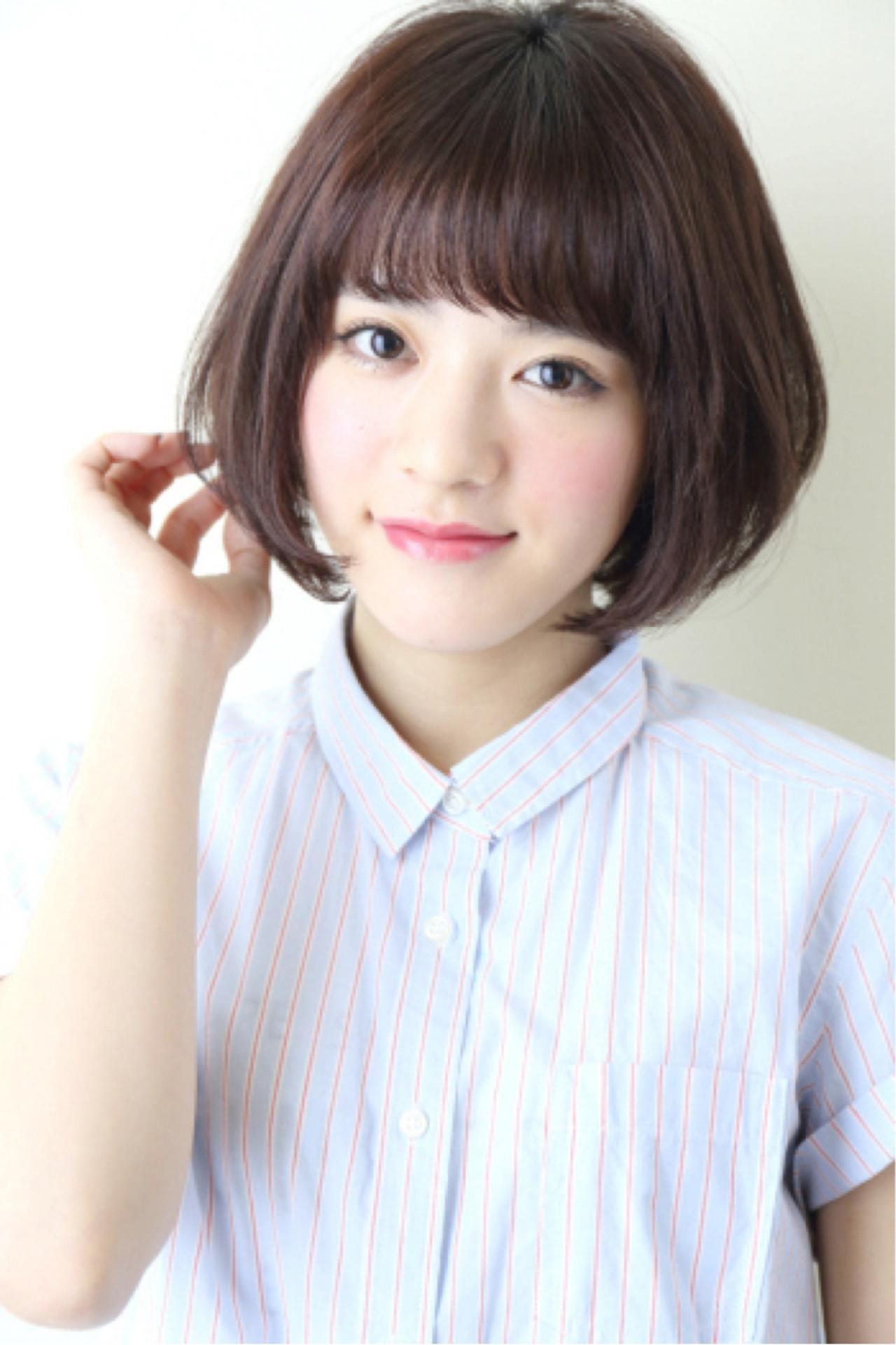 【ショートヘア画像集】こんな髪型にしたい♡真似したくなるヘアスタイル 羽田 ひろむ