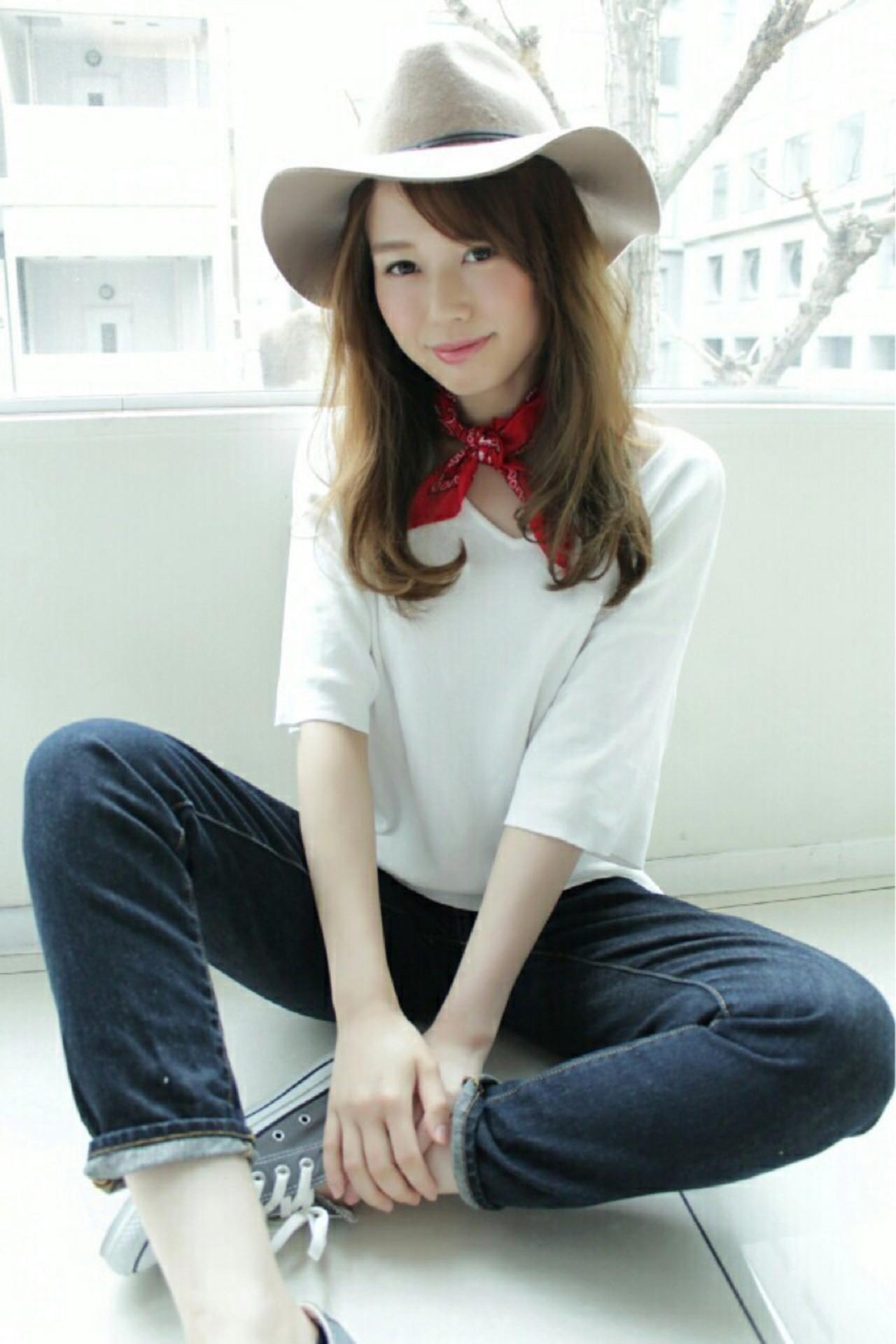 バンダナを使った髪型で可愛さUP♡とっておきアレンジ特集 桐谷 芽依