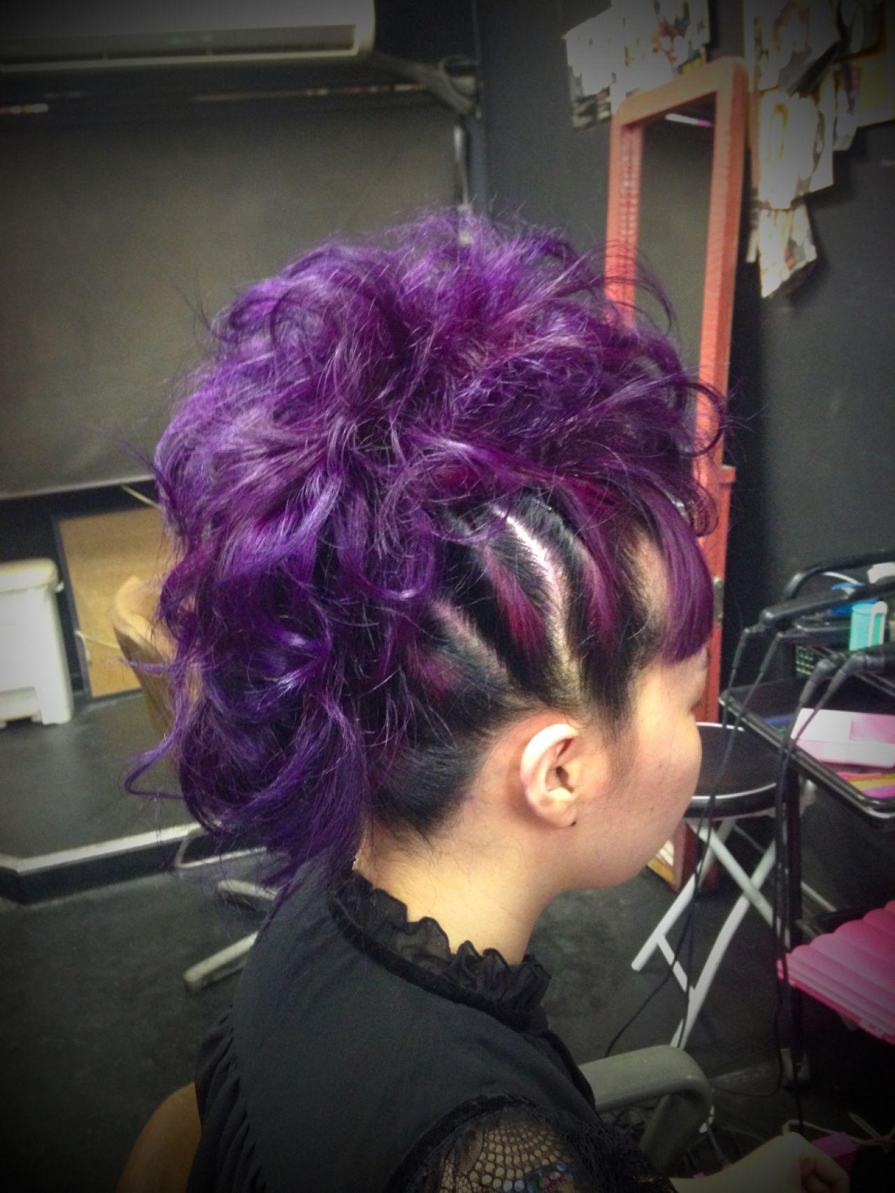 クール女子におすすめ!カッコかわいいソフトモヒカン風の髪型カタログ 行川 由希子