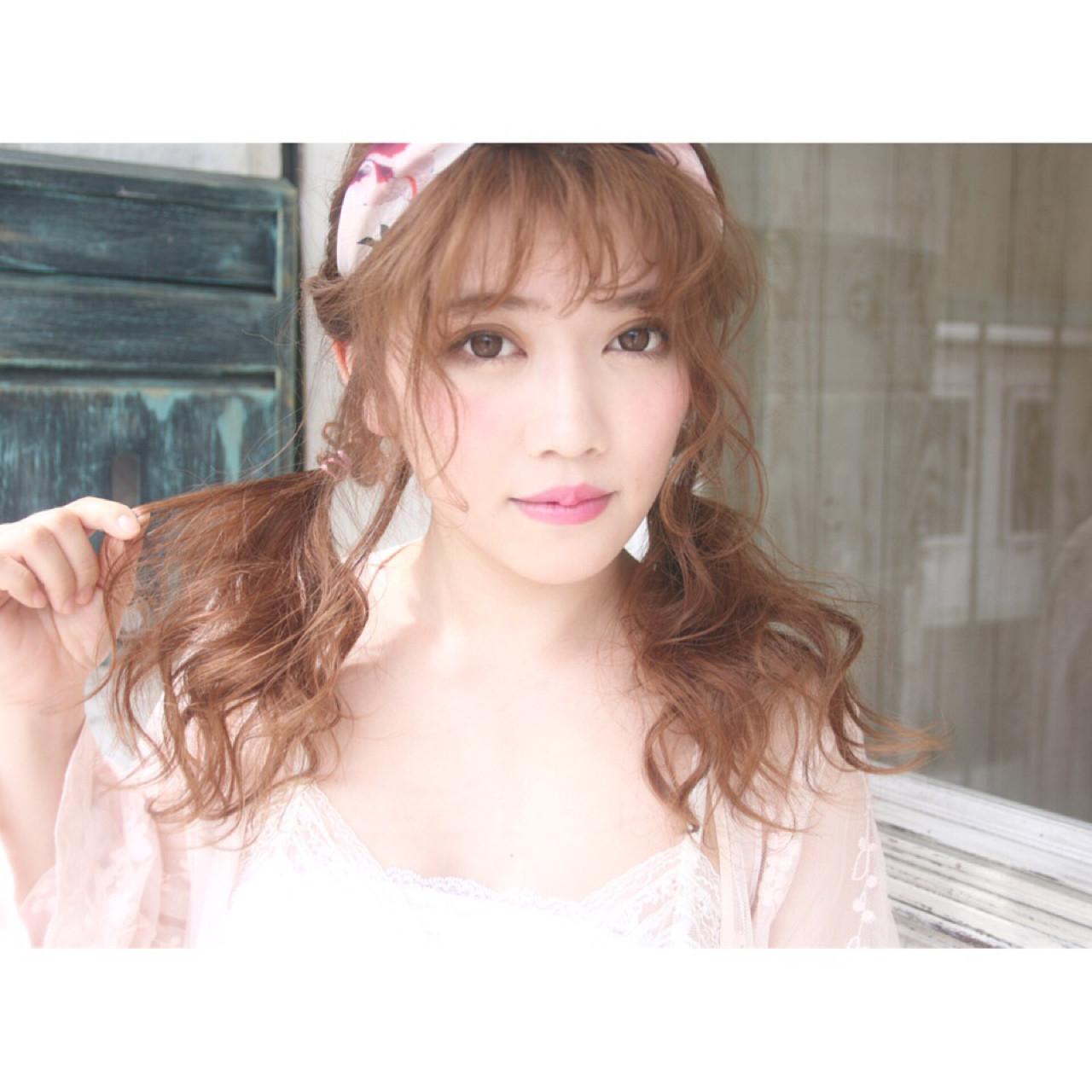 バンダナを使った髪型で可愛さUP♡とっておきアレンジ特集 松谷 聖史