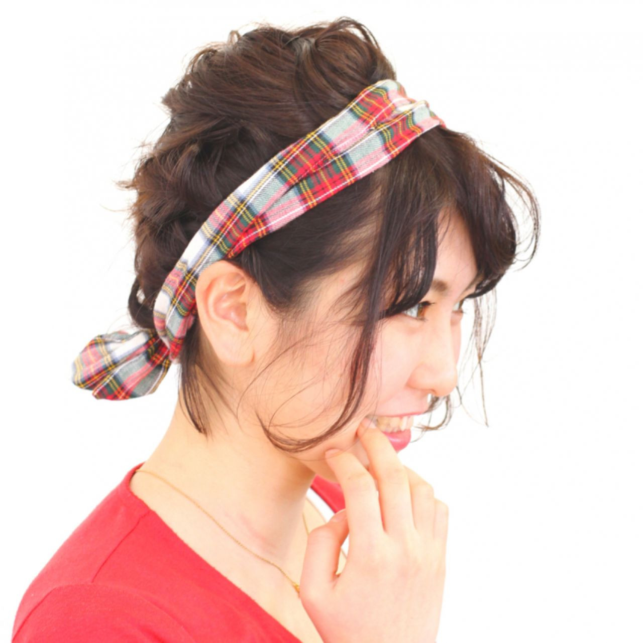 バンダナを使った髪型で可愛さUP♡とっておきアレンジ特集 古川 未来