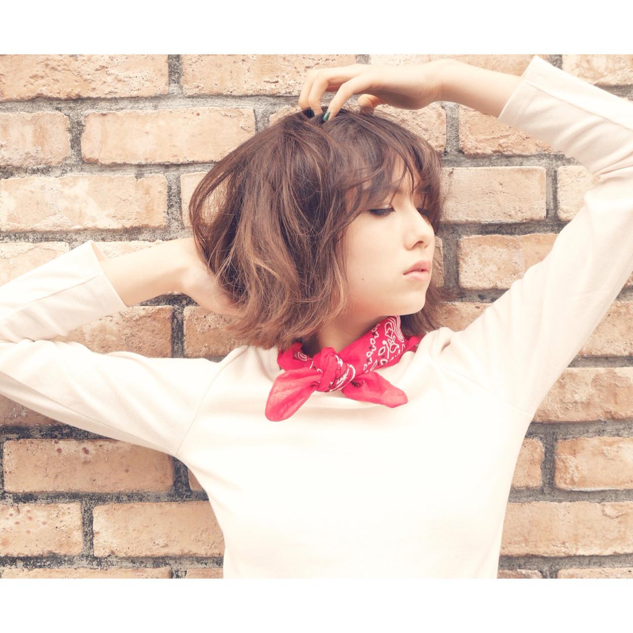バンダナを使った髪型で可愛さUP♡とっておきアレンジ特集 山田 真由