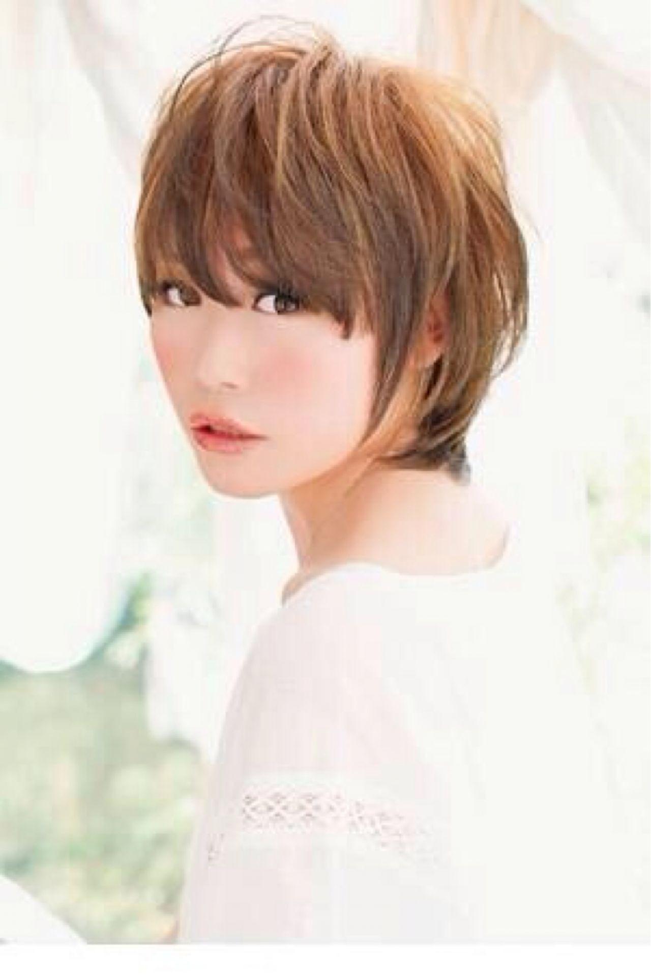 ショートでも女性らしく!女っぷりが上がる短めヘアカタログ 野村 麻美