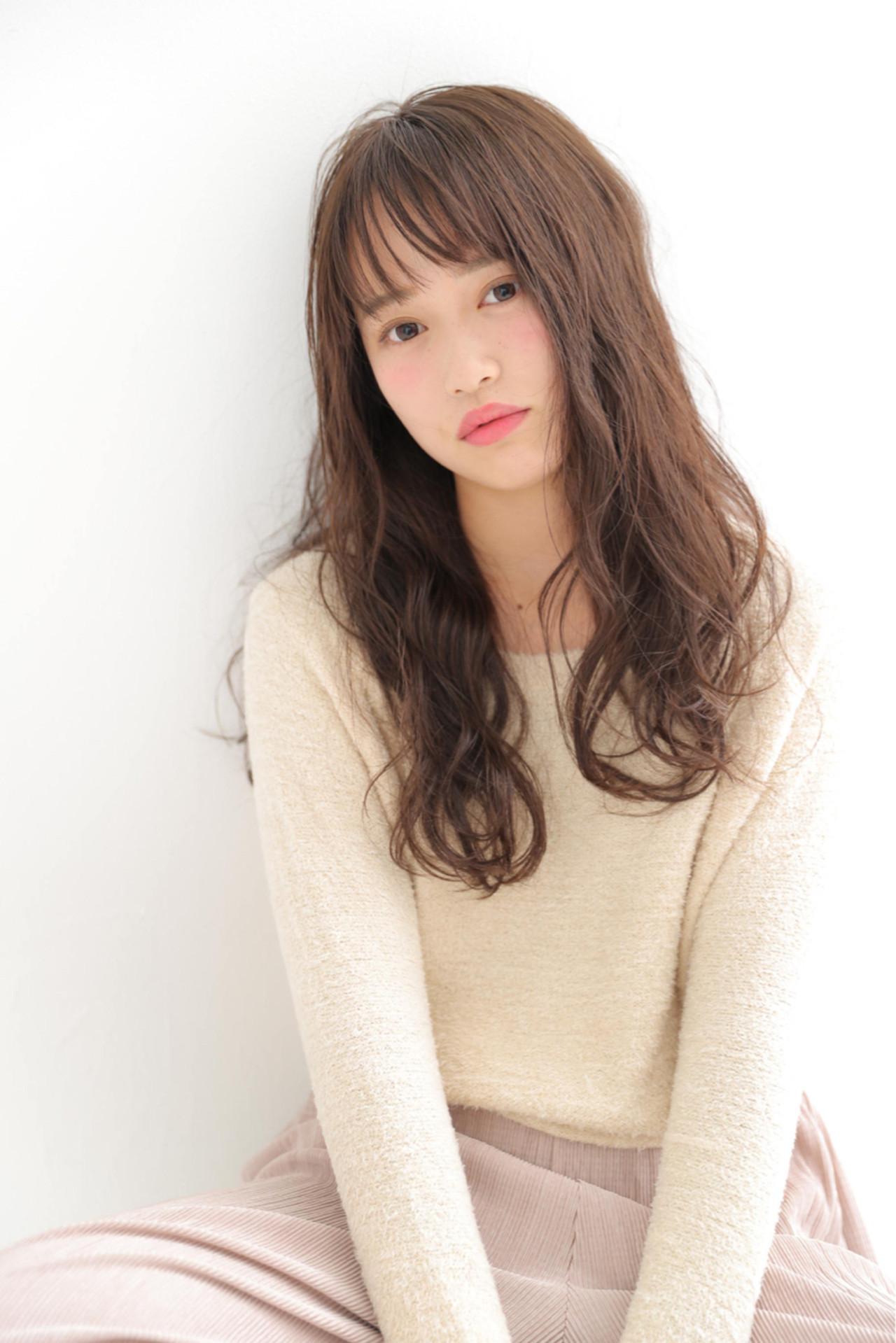 韓国発シースルーバングでピュア可愛く♡スタイル&アレンジ術 大谷 伶美 / brace