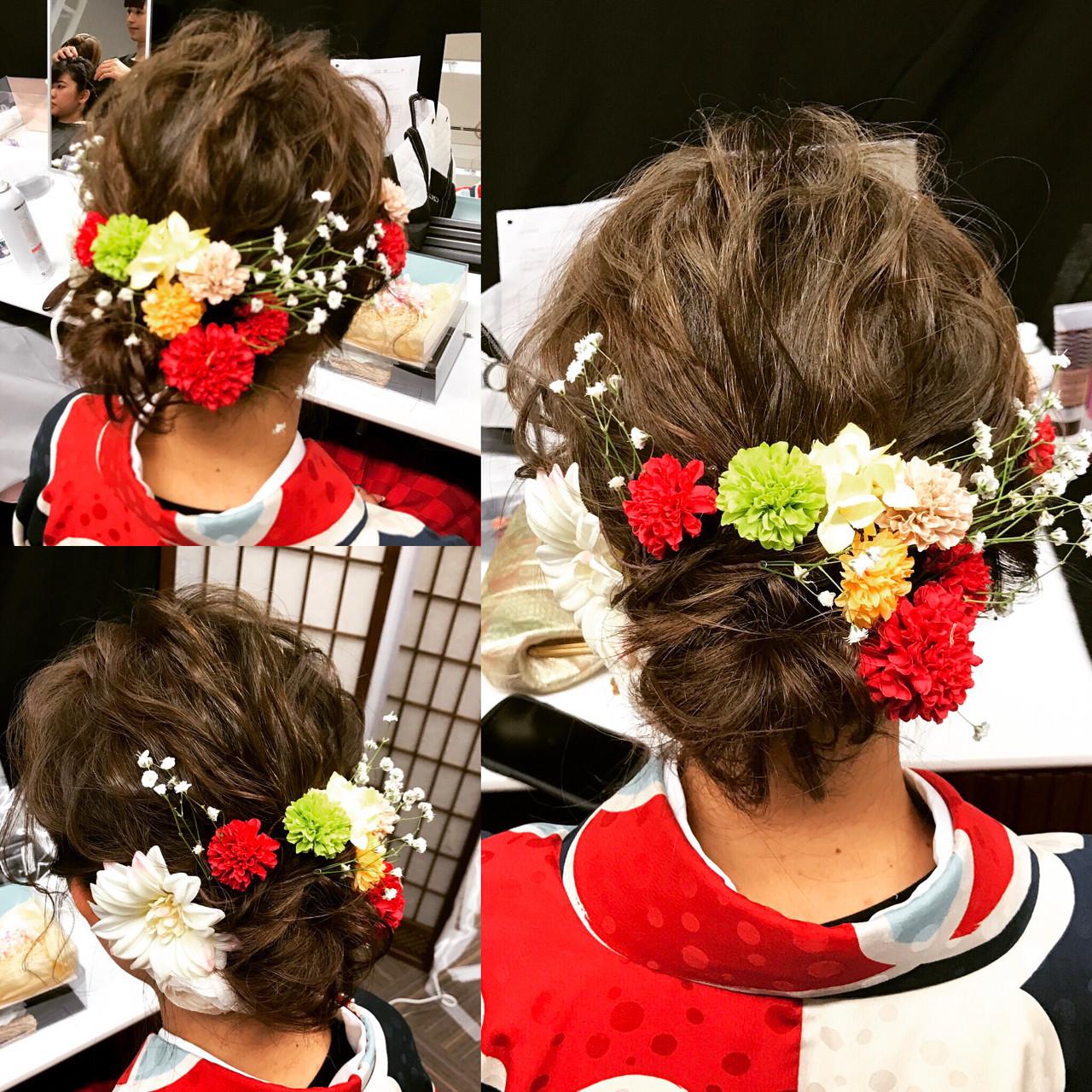 【髪型カタログ】着物に似合うショートのおすすめ髪型アレンジ特集 ナミナミ