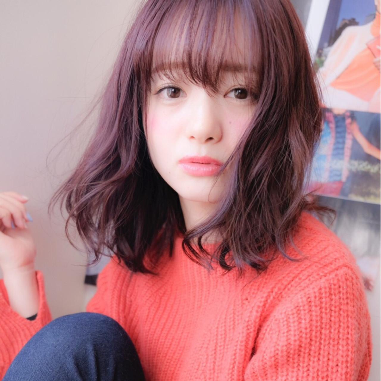 韓国発シースルーバングでピュア可愛く♡スタイル&アレンジ術 牛丸彩香