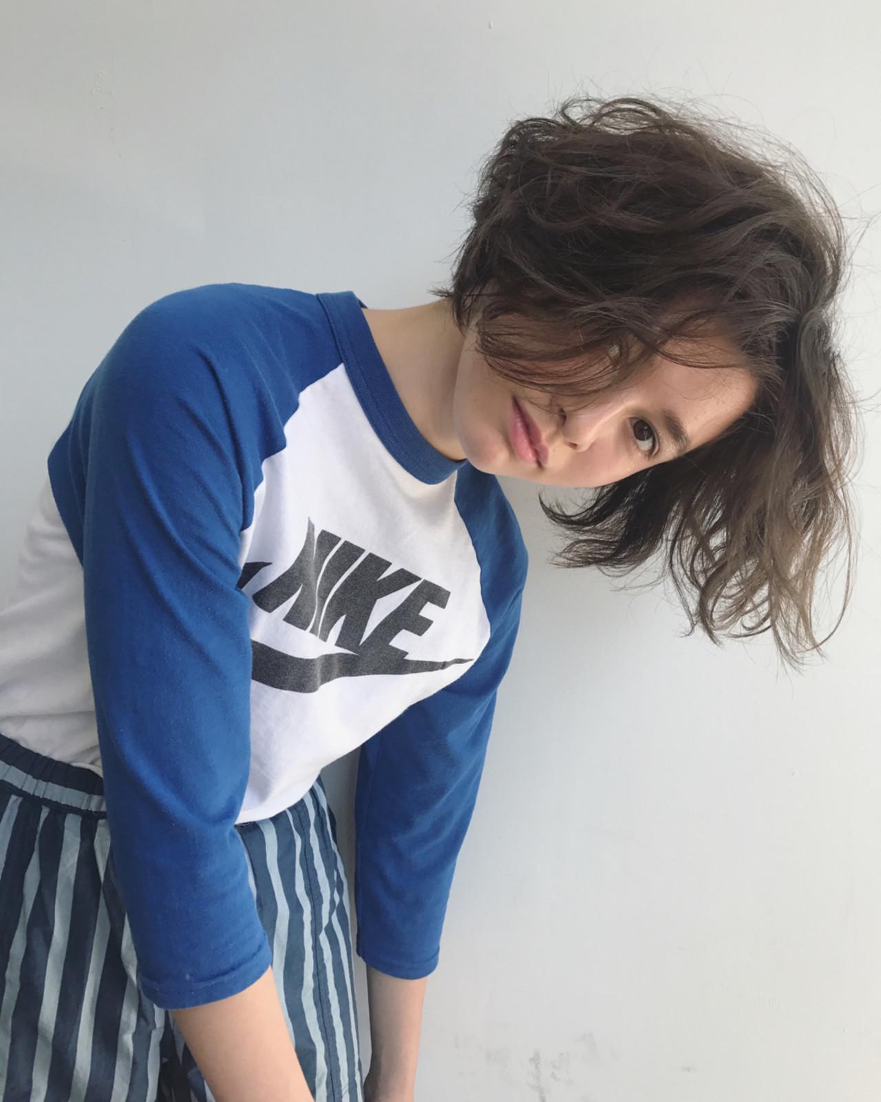 【ショートヘア画像集】こんな髪型にしたい♡真似したくなるヘアスタイル 馬橋達佳