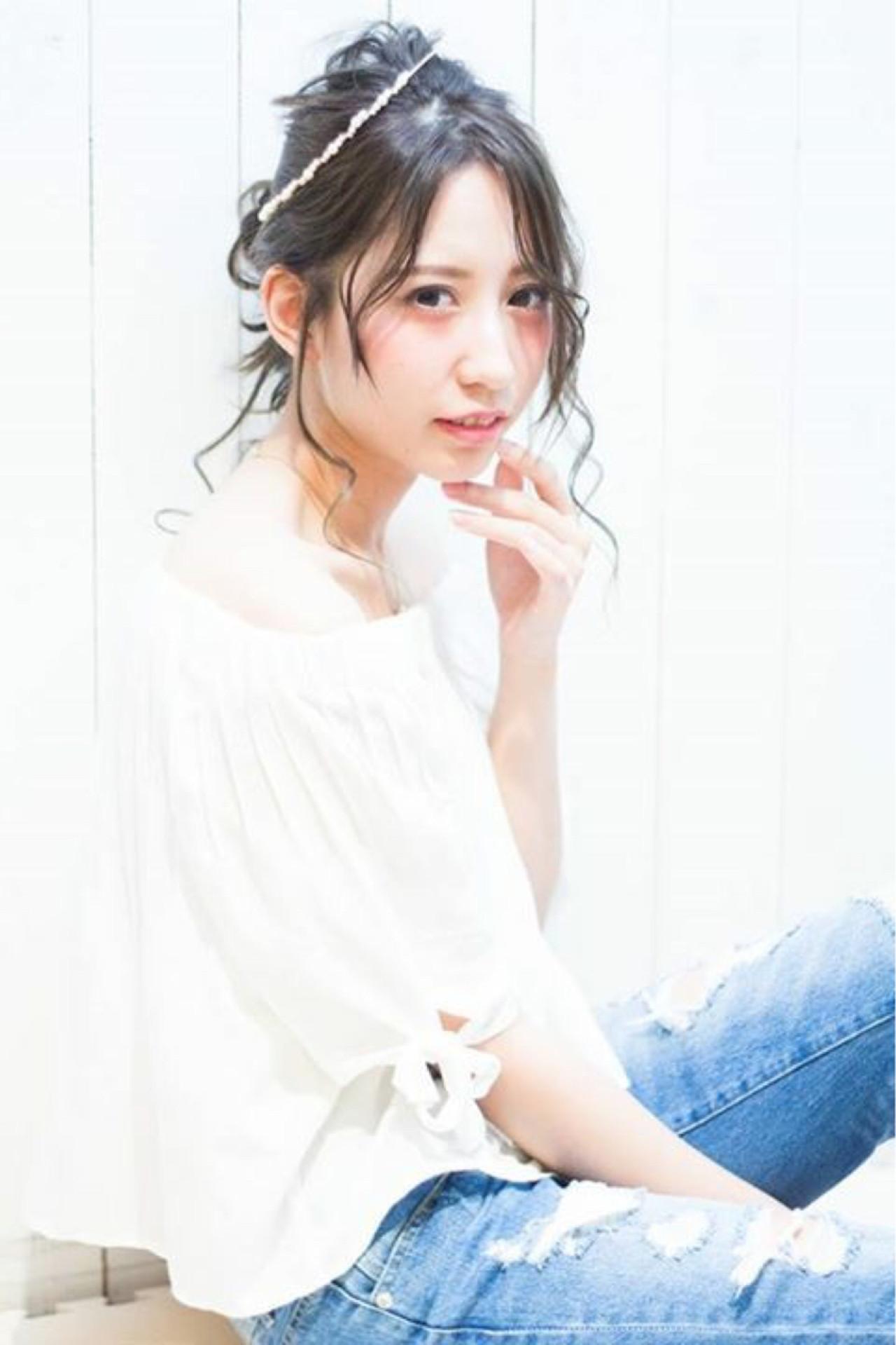 """【特集】""""伸ばしかけ""""前髪を可愛くヘアアレンジ♡邪魔になる前にマスターしよ♪ HIRO"""