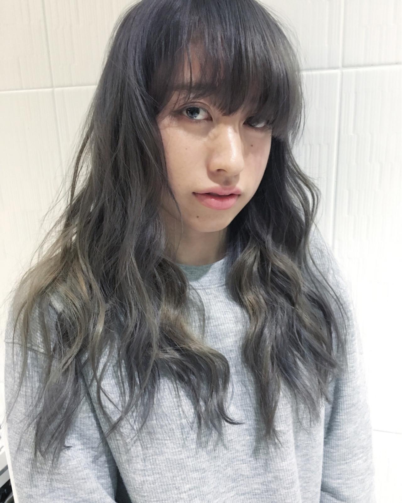 ブルージュ アッシュ 外国人風カラー ストリート ヘアスタイルや髪型の写真・画像
