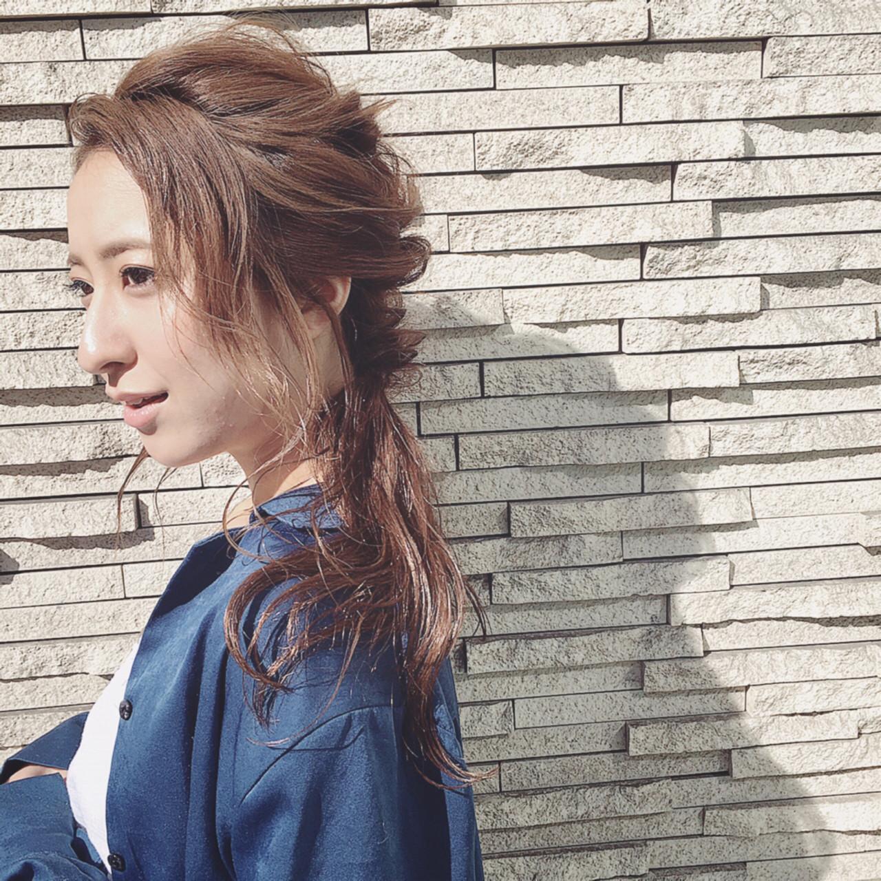 ロングヘアのまとめ髪を短時間で可愛く♡7DAYSアレンジカタログ 舩木 宏哉