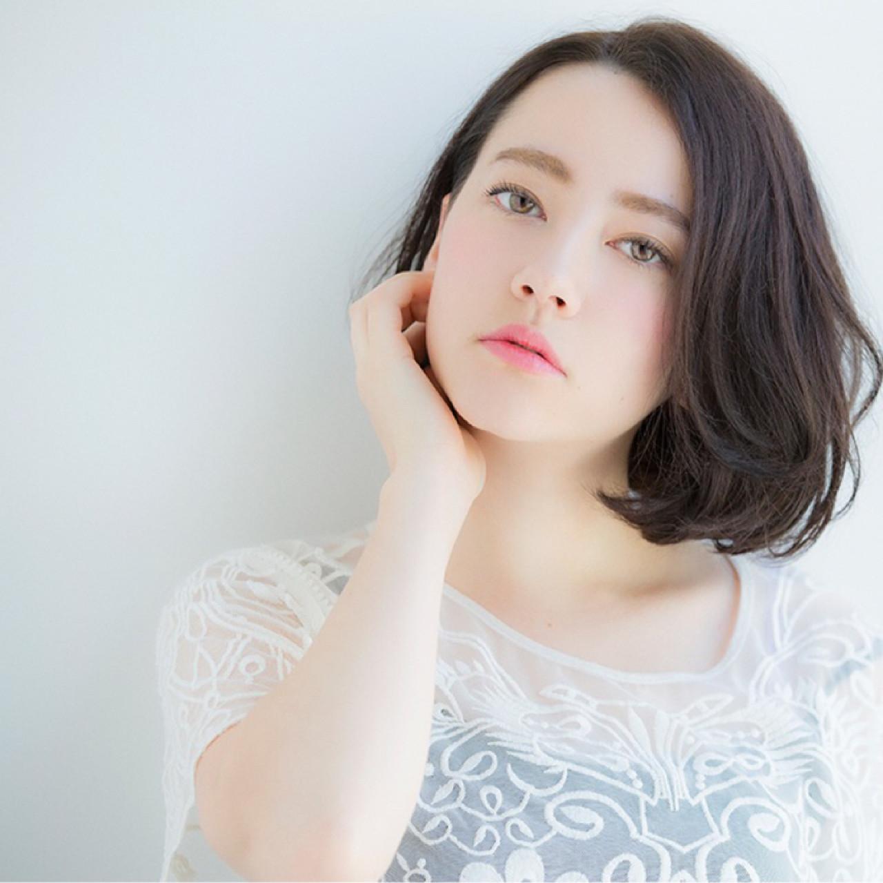 可愛いからハンサムまで♡ワンレン×ショートボブの髪型スタイル 東 純平