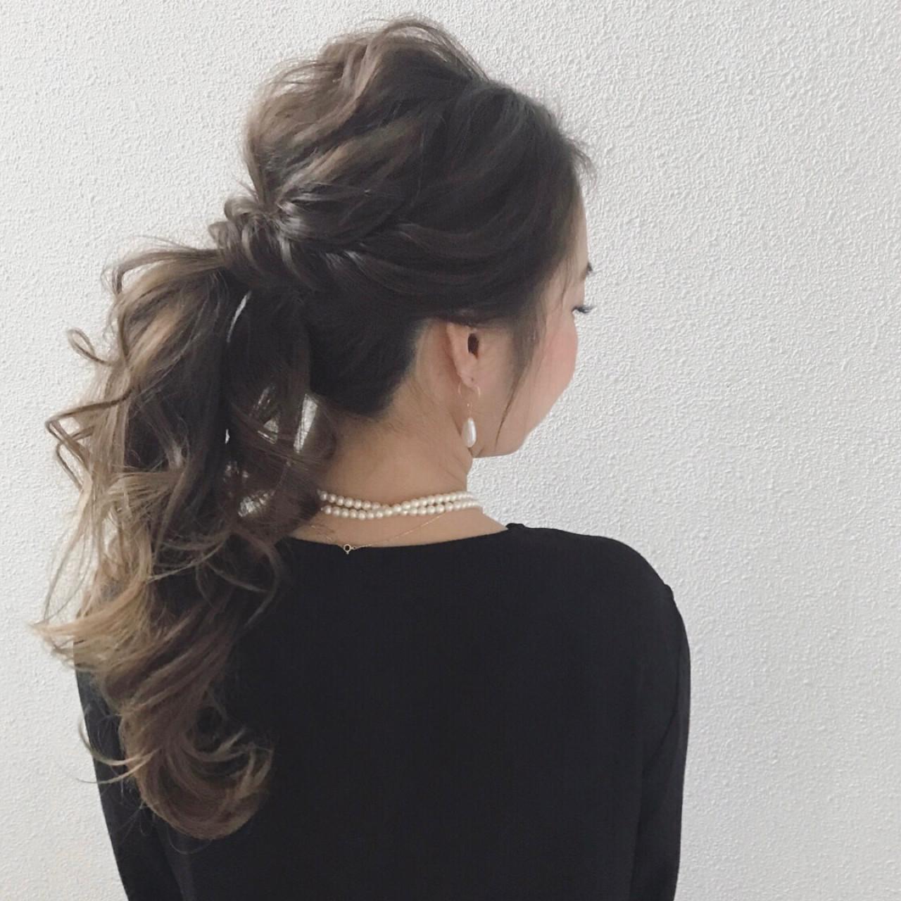 デート 結婚式 上品 リラックス ヘアスタイルや髪型の写真・画像