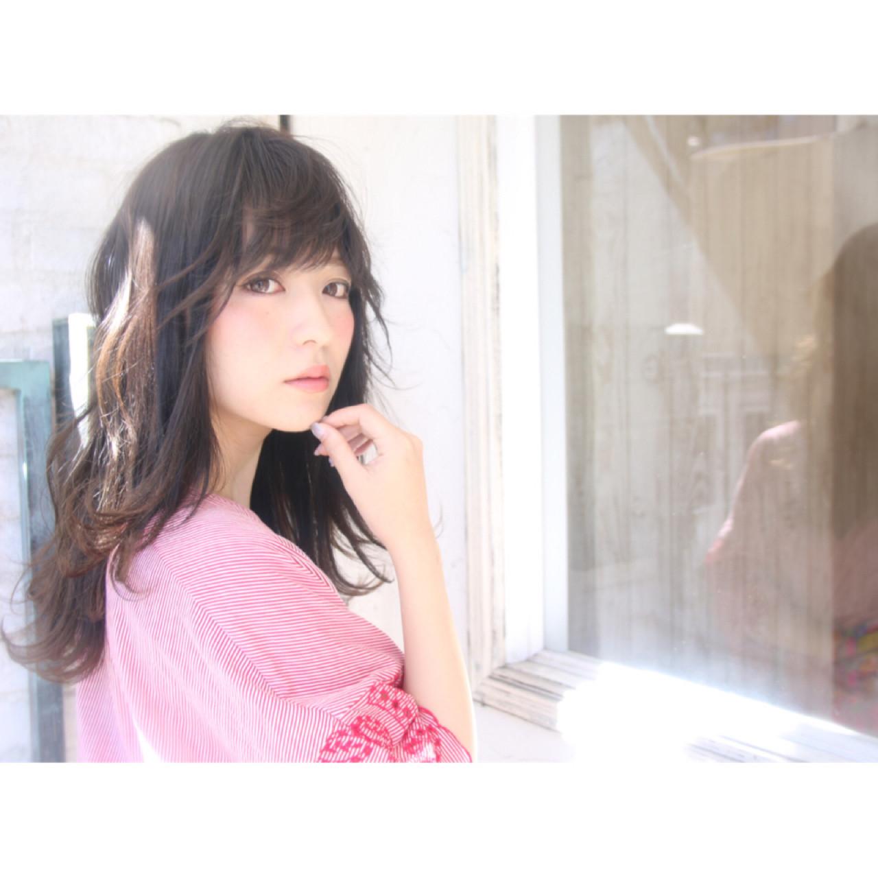 デート フェミニン アンニュイ ヘアアレンジ ヘアスタイルや髪型の写真・画像