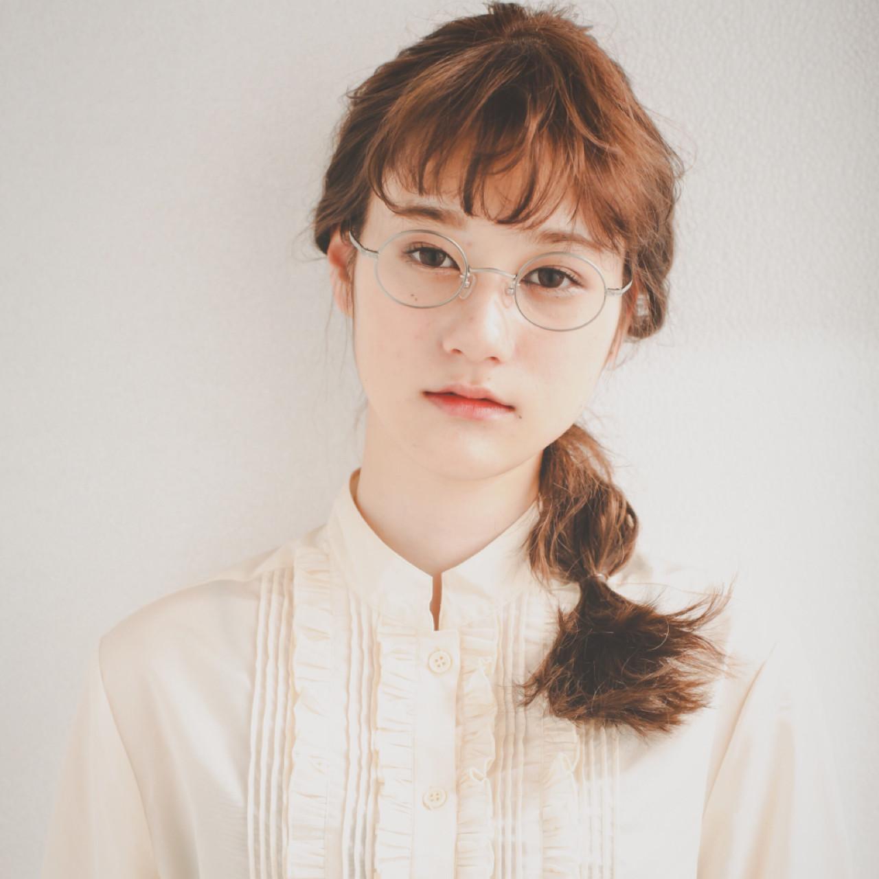 ショート ガーリー ヘアアレンジ デート ヘアスタイルや髪型の写真・画像