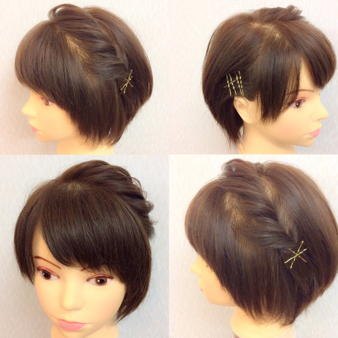 ヘアアレンジ 結婚式 簡単ヘアアレンジ 二次会 ヘアスタイルや髪型の写真・画像