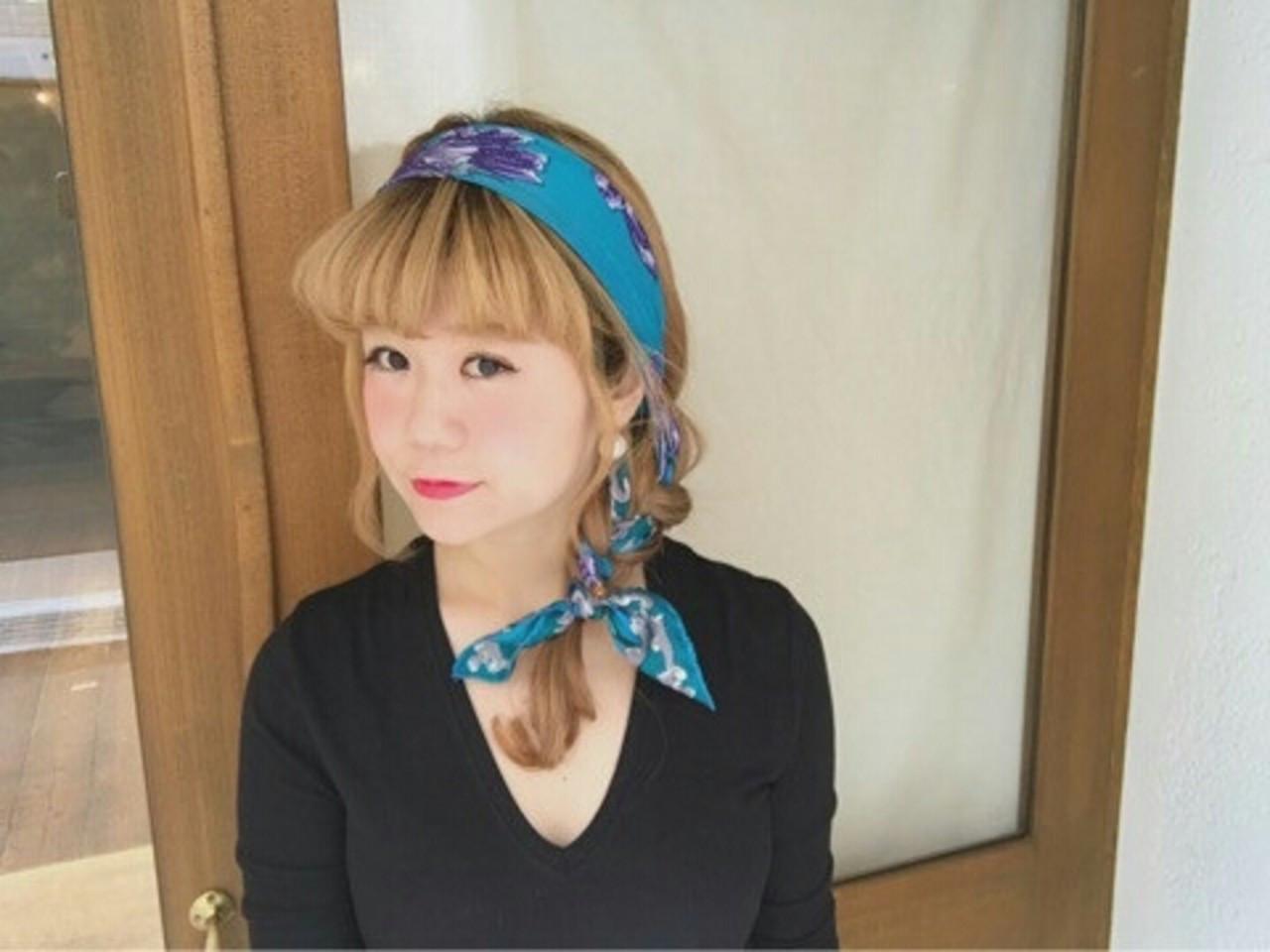 ヘアアレンジ ロング ヘアアクセ 大人女子 ヘアスタイルや髪型の写真・画像