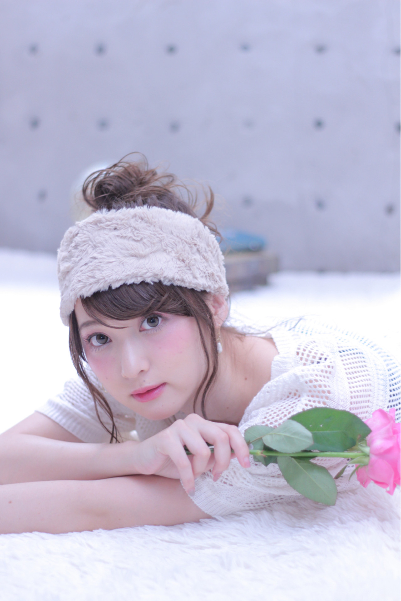 大人女子 セミロング 簡単ヘアアレンジ ショート ヘアスタイルや髪型の写真・画像