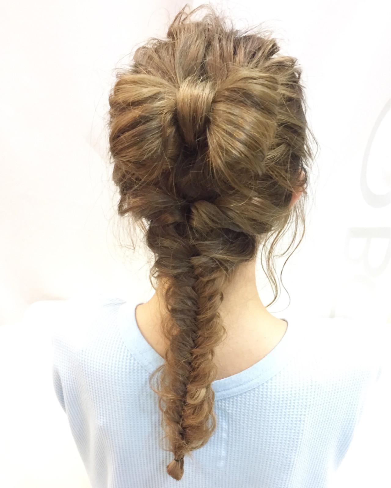 女子会 セミロング ナチュラル 簡単ヘアアレンジ ヘアスタイルや髪型の写真・画像