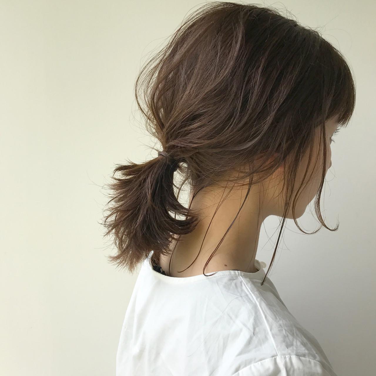 女子会 デート ナチュラル アンニュイ ヘアスタイルや髪型の写真・画像