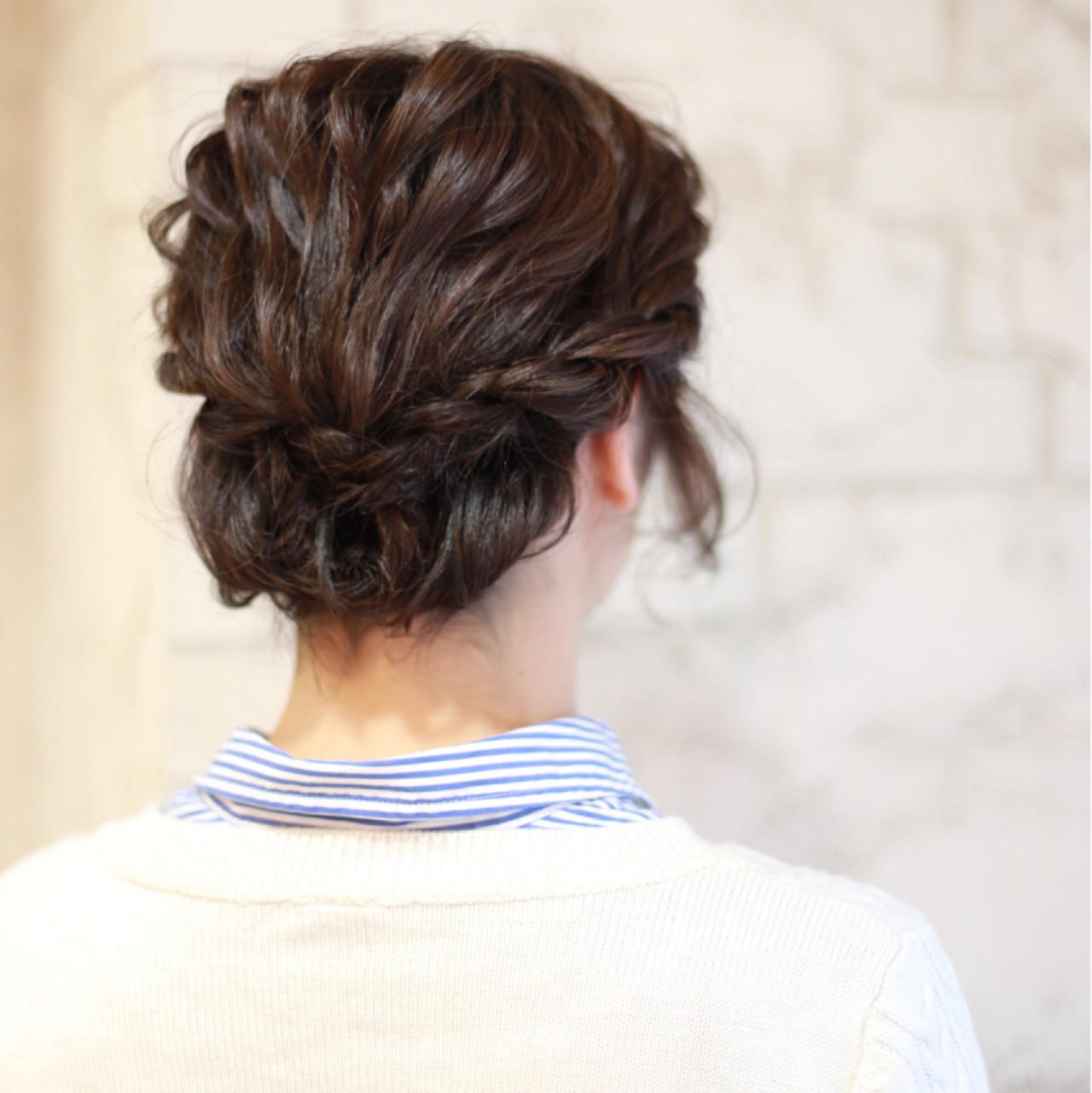 ショート ヘアアレンジ 結婚式 パーティ ヘアスタイルや髪型の写真・画像
