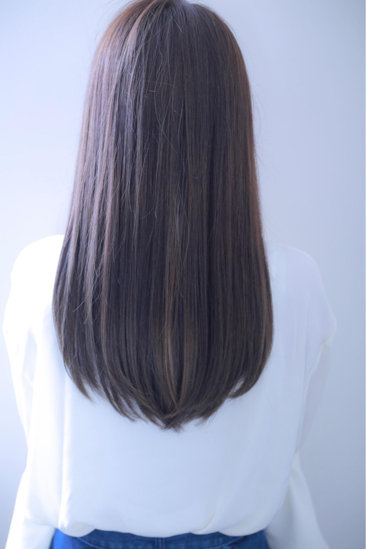ナチュラル ロング デート 女子会 ヘアスタイルや髪型の写真・画像
